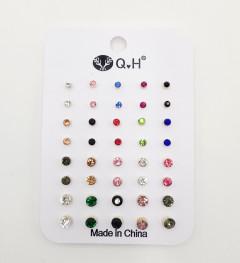 40 Pcs Ear Ring (AS PHOTO) (Os) (GM)