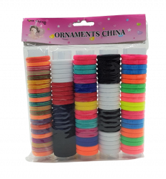Multicolored Rubber Band (AS PHOTO) (Os) (GM)