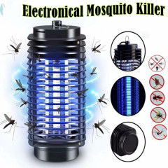 LM3B 3W Light Control Electronical Mosquito Killer LED LAMP (BLACK) (OS) (GM)