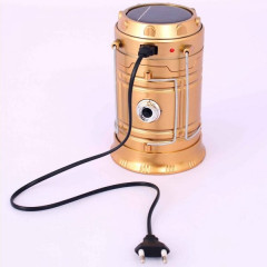LED Solar Camping Lamp Rechargeable LANTERN (GM)