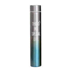 Water Bottle Stainless Steel Vacuum (BLUE) (Os) (GM)