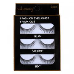 3 Fashion Eye Lashes (OS) (GM)
