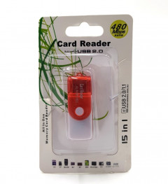 15 in 1USB - Card Memory Card Reader 2.GB