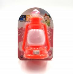 Awraaq Plastic Mini LED Lantern Switch Plug-In Night Light