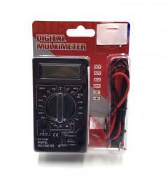 Multimeter, DT-830B Amp Volt Ohm Tester Ammeter Voltmeter Multifunctional Portable LCD Digital Ohmmeter Meter Electricians Tools (DT-830B)