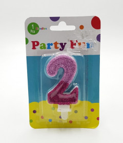 two Shape Party Candle 2inch