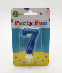 Seven Shape Party Candle 2inch