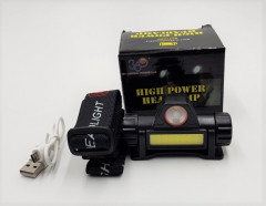 High Power Rechargeable Headlamp 50W.