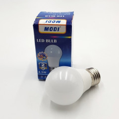 4.5 W Equivalent LED Light Bulb, Lumens Daylight White, Warehouse, Workshop,Non-Dimmable, 270° Beam Angle