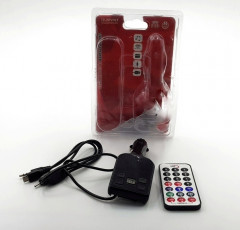 Mp3 Wireless Fm Transmitter with Sd Card and USB Jump Drive Slot