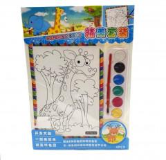 4 Pcs Kids Painting Set