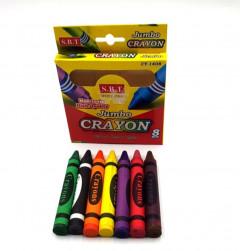 8 Pcs color kids crayon set