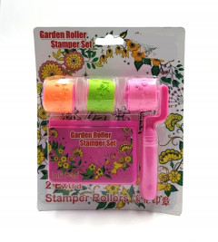 Roller Stamp With 2 Extra Rollers