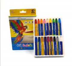 18 Colors Cute Oil Pastel Sticky Colorful Children Crayons For Drawing Kids