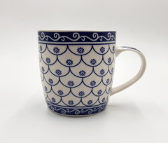 Coffee Mug of Large-size Restaurant Coffee Mugs By Bruntmor, Polka Dot