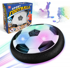football gifts boys 5 6 10 years - hover ball toys from 5-10 years boys with LED light, air hockey children's toys, indoor & outdoor children's games,