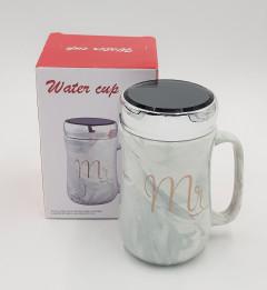 Ceramic Water Mug Letter 450ML