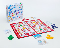Sequence for Kids is a kids Educational board game that does not require reading. Suitable for 3+ year old kids. A good start that makes learning fun, Play and learn