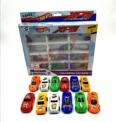 12 Pcs Mini Cars Metal Racing Car Set Die Cast Vehicles Toy for Kids