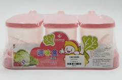 3 Pcs Condiment Box