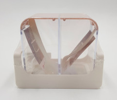 Food Storage Container with Spoon, 2pcs