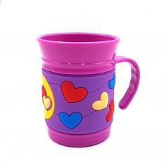 Plastic Drinking Mug 3D For Children