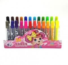 24 Color Washable Color Pen No. 1103 Washable Watercolor Pen