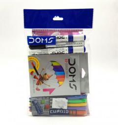 Marker and Color Pencil 12 Pcs set