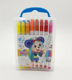 24 Color Marker Art Drawing Set