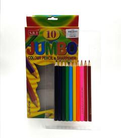 10 Pcs Colouring Pencils