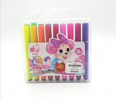 18 Pcs Painting Marker 18 Colors
