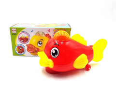 Funny Fish Toy 3D Lights and music for kids