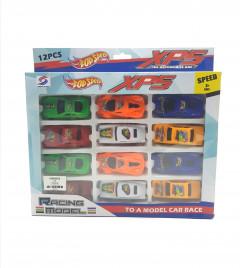 12 Pcs Pack Car Race