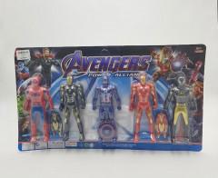 5 Pcs Avenger Toys