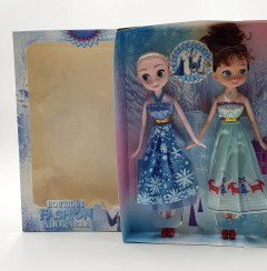 Frozen Anna Elsa Princess Queen Barbie doll toys