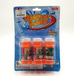 3 pcs pack Bottle Blowing Bubble Toys