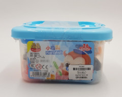 Kids Play Dough, 24 colors House Box