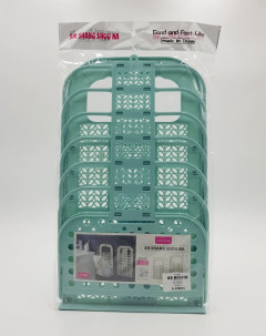 Laundry Basket Plastic Suction Cup Hanging Hamper Dirty Clothes