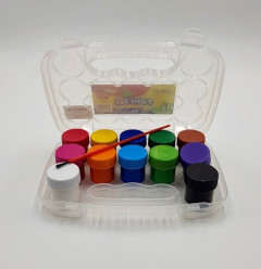 12 Pcs Water Color  Set With Brush