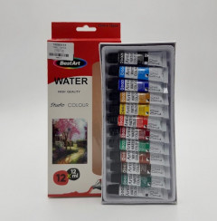 12 Pcs*12 ml Water Color With High Quality