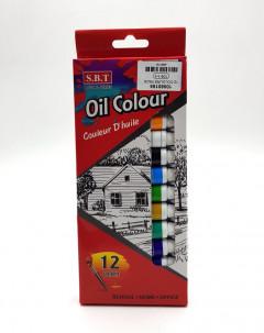 12 Pcs Oil Colors