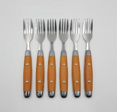 6 Pcs Dinner Forks Set - Great Dinner Forks for Home, Kitchen, or Restaurant