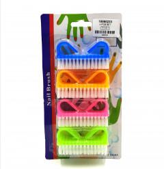 4 Pcs Nail Brush