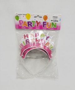 4 Pcs Pack Happy Birthday Party Fun