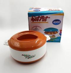 Plastic Thermoware Hot Pot