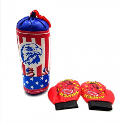 children's sports gifts boxing gloves toy set