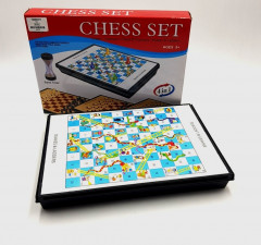 chess set (4 in 1)