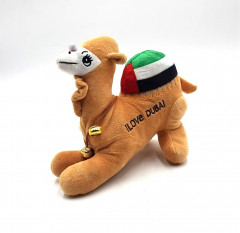 Doll with camel design