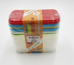 Food Containers Freezer Cubes for Storing Stacking Mashed Food
