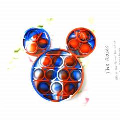 Fidget Toy Anti Stress Multi Color Push Pop It